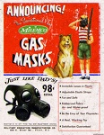 Atomic Ads - MILEMCO Gas Masks