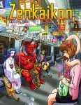 Zenkaikon 2018 Program Guide Cover