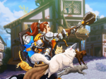Here Comes the Cat-valry!